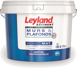 Leyland murs & plafonds Haute Performance Blanc Mat