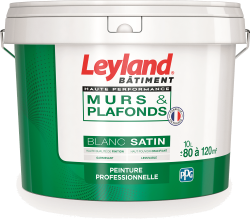 Leyland murs & plafonds Haute Performance Blanc Satin