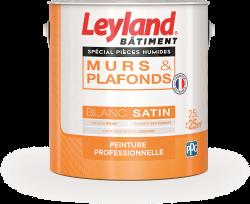 Leyland murs & plafonds Spécial pièces humides Blanc Satin