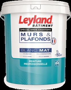 Leyland murs & plafonds Gros Chantiers Blanc Mat